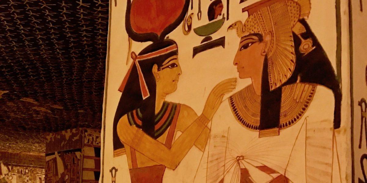Wandmalerei Nefertari