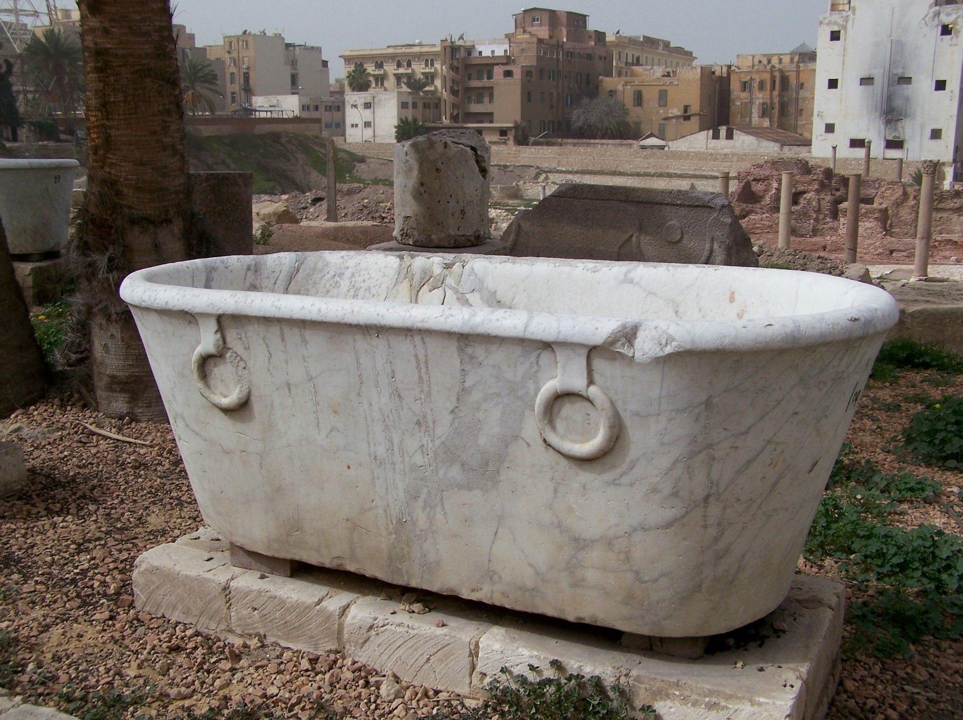 Antike Badewanne, Alexandria