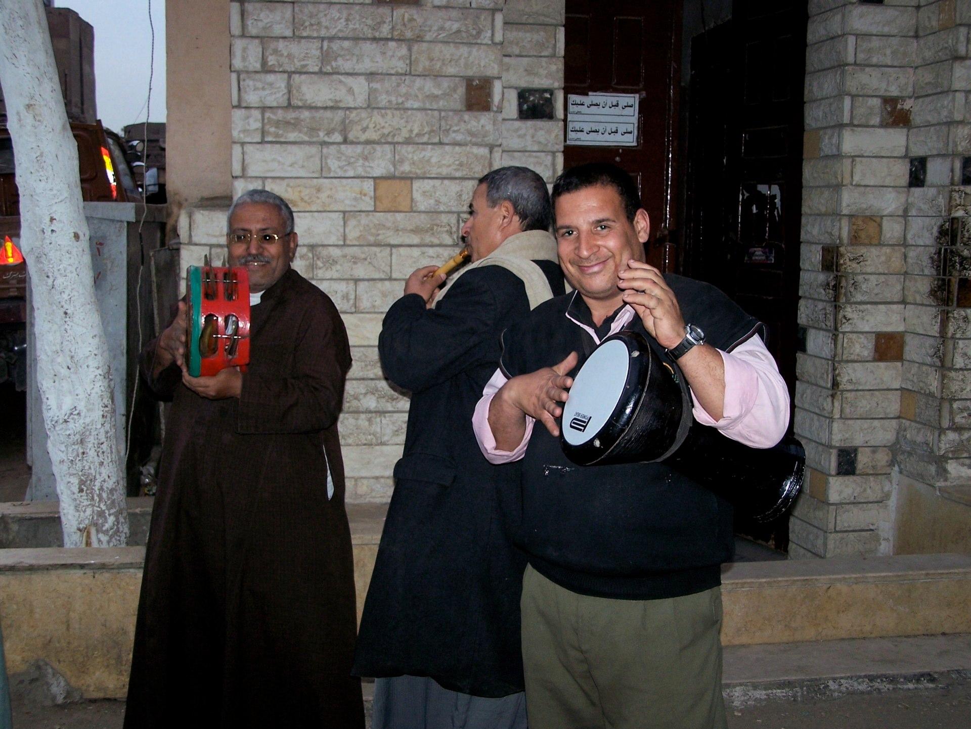 Musiker Gruppe, Kairo