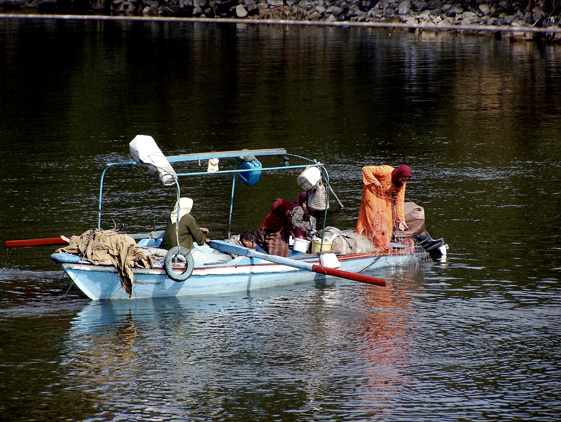 Nil Boot, Kairo