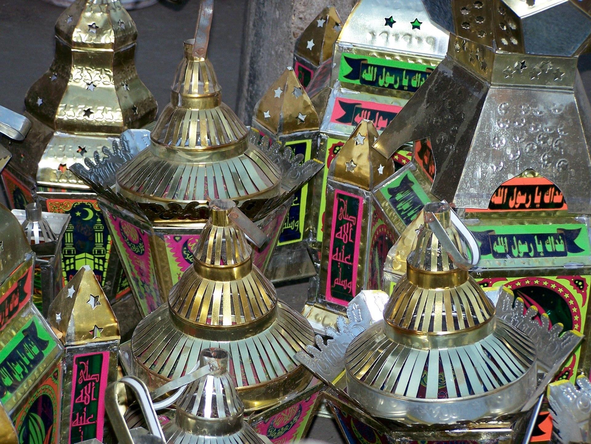Ramadan Laternen, Kairo