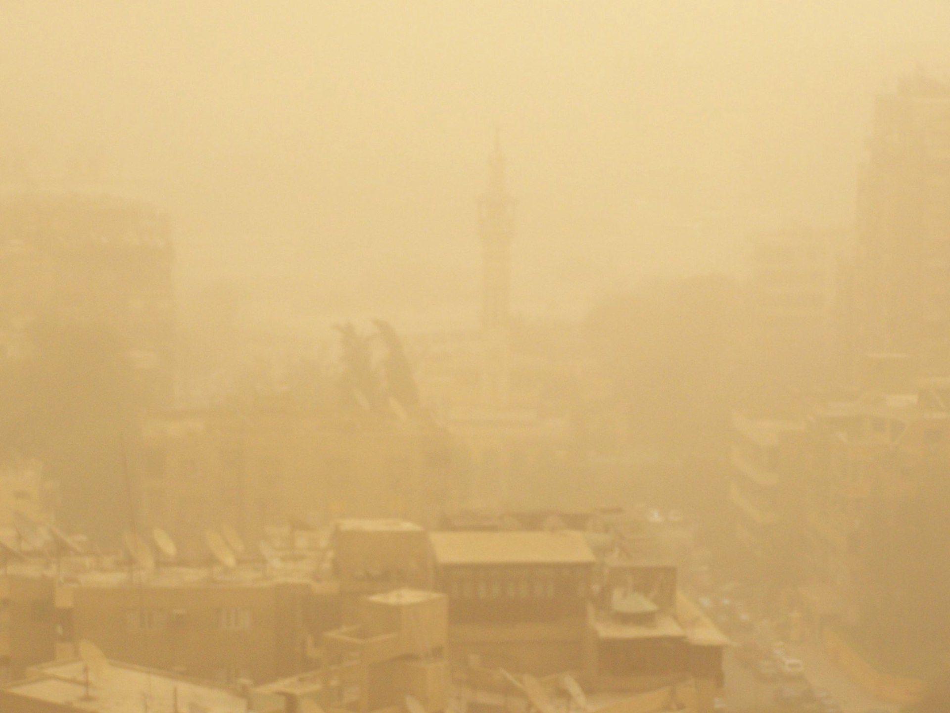 Sand Sturm, Kairo