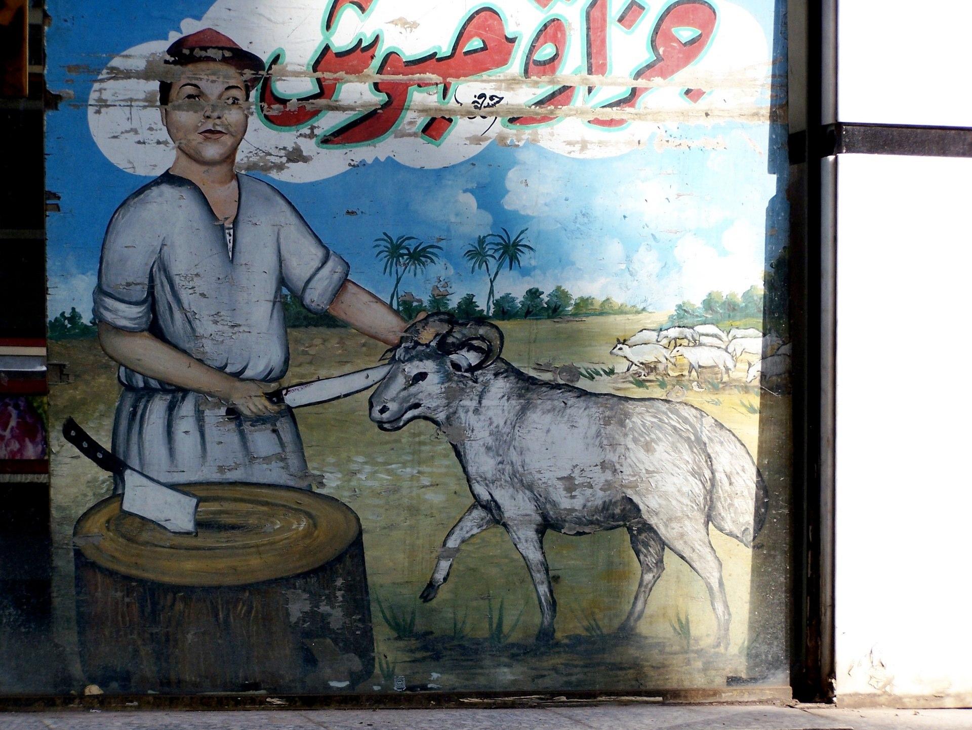 Schlachter, Kairo