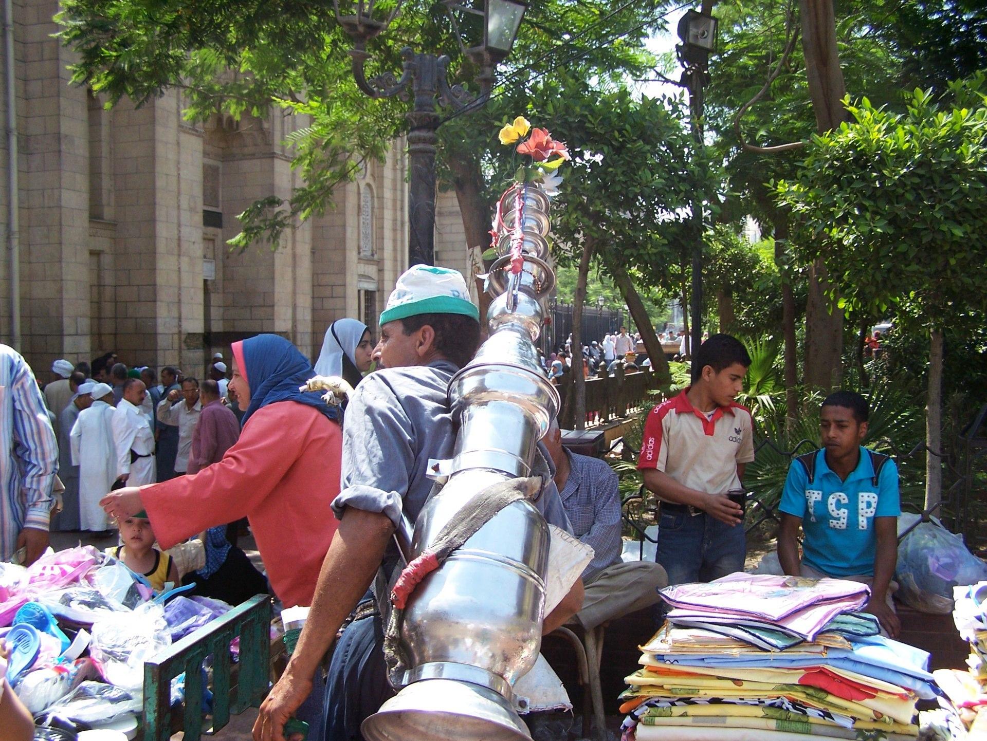 Straßenleben, Kairo