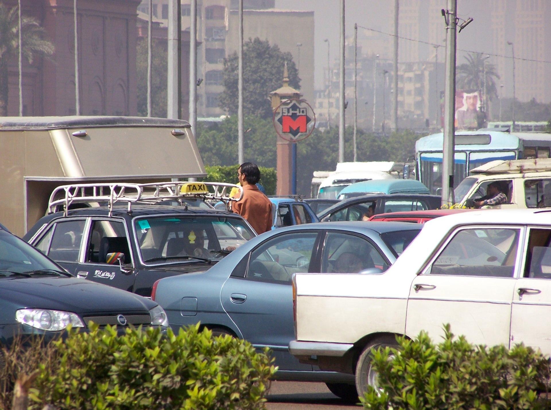 Verkehr, Kairo