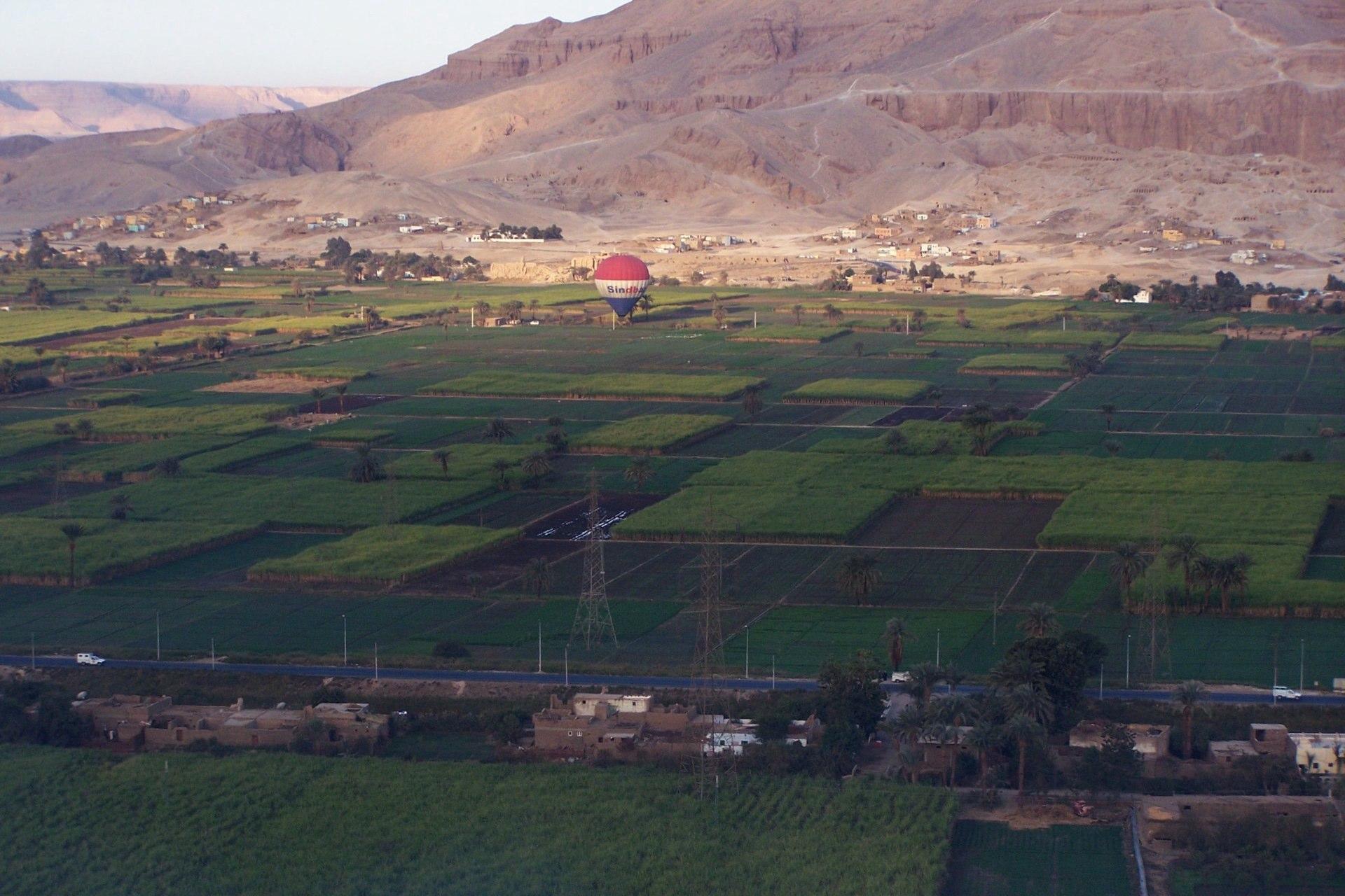 Luxor Feld Vorgelperspektive