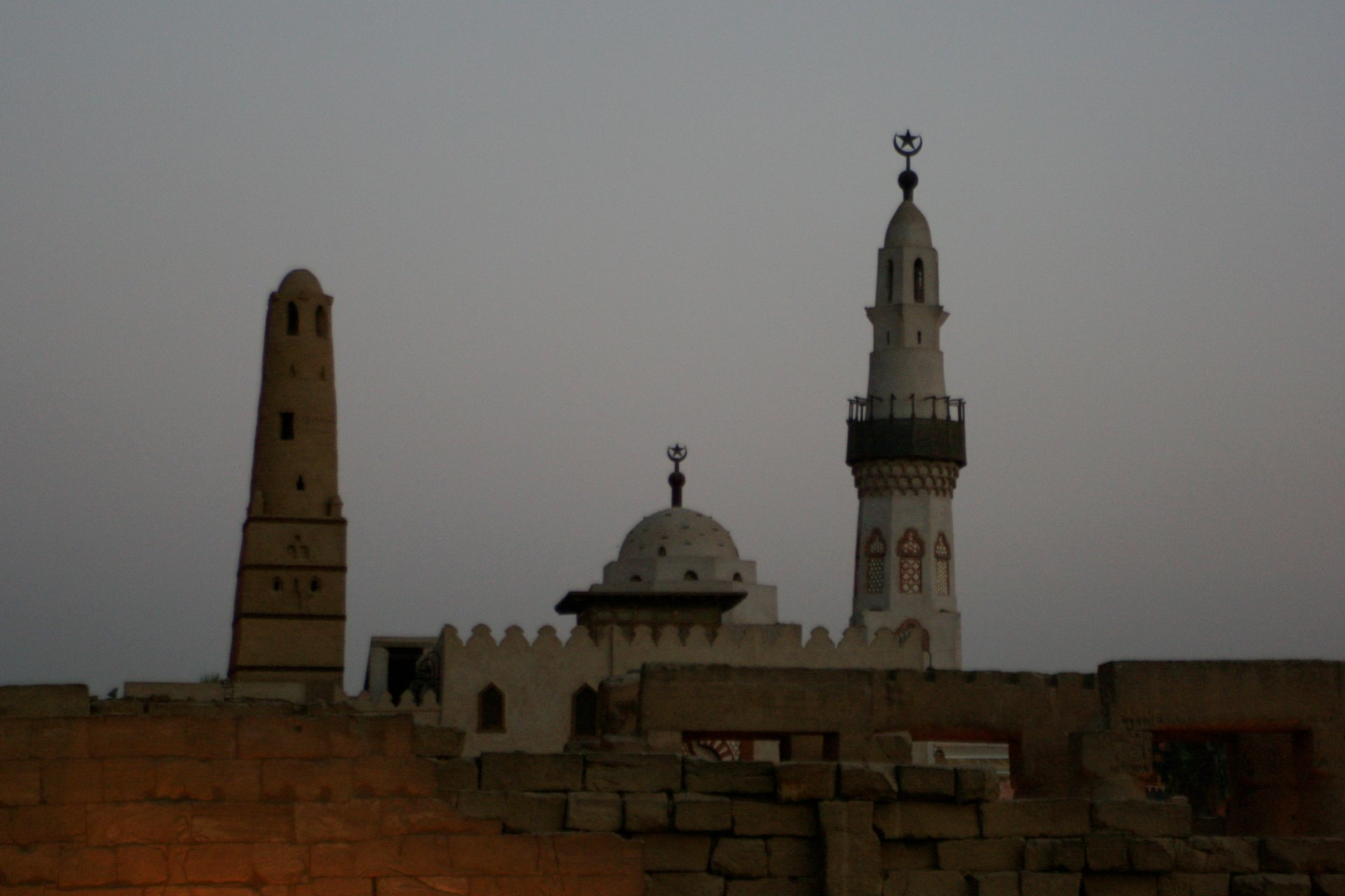 Luxor Minarett