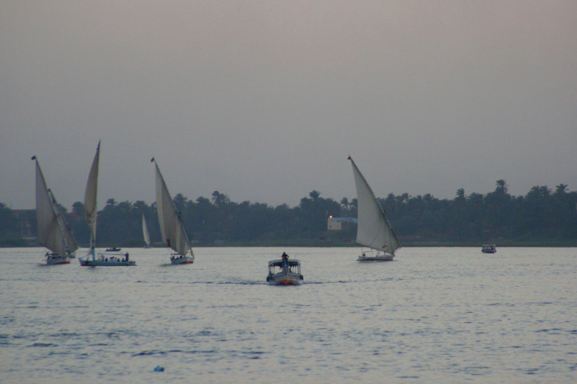 Luxor Nil Feluka