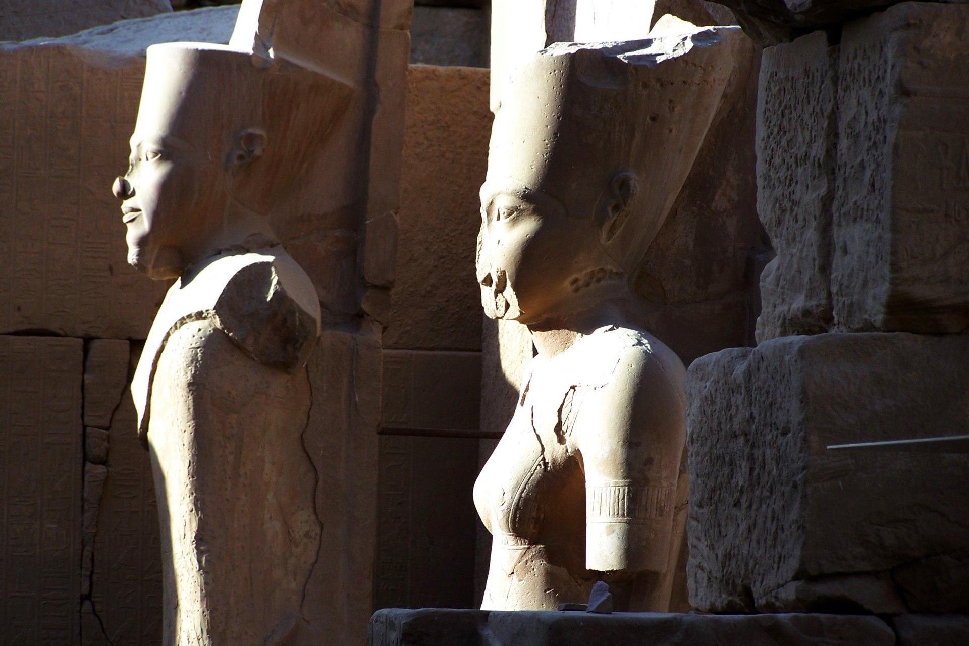 Luxor Ramses Büste