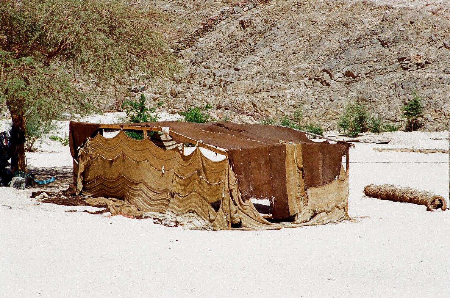 Sonnenschutz in der Wüste